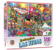 Greetings From Las Vegas 550 piece jigsaw puzzle (+poster!) 610mm x 460mm  (mpc)